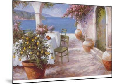 An Italian Summer IV-N^ Fiore-Mounted Art Print