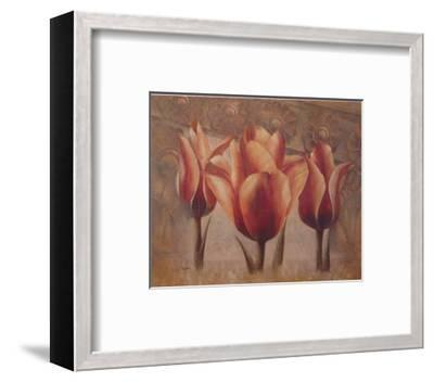 Triple Tulip III-Rumi-Framed Art Print