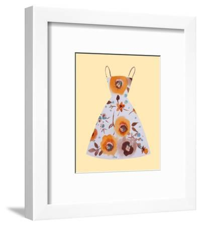 Fetching-Jane Claire-Framed Art Print