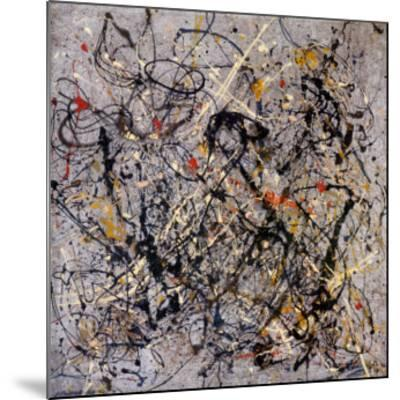 Number 18, 1950-Jackson Pollock-Mounted Art Print