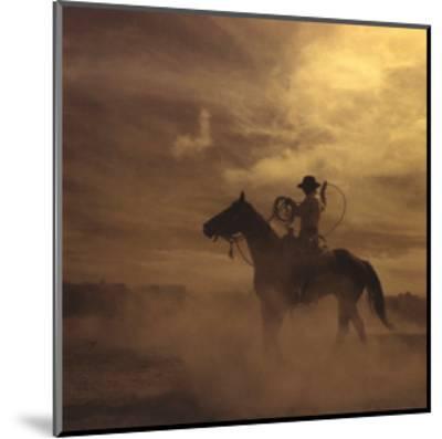On the Range II, Building a Loop-Adam Jahiel-Mounted Art Print