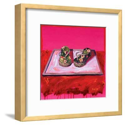 Necessary Objects IV-Brenda K^ Bredvik-Framed Art Print