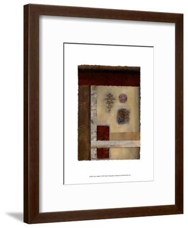 Asian Collage IV-Mauro-Framed Art Print
