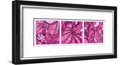 Pink Fission II-Tina Kafantaris-Framed Art Print