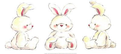 Rabbits-Makiko-Framed Art Print
