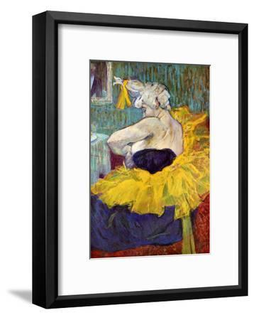 The Lady Clown Cha-U-Kao-Henri de Toulouse-Lautrec-Framed Giclee Print