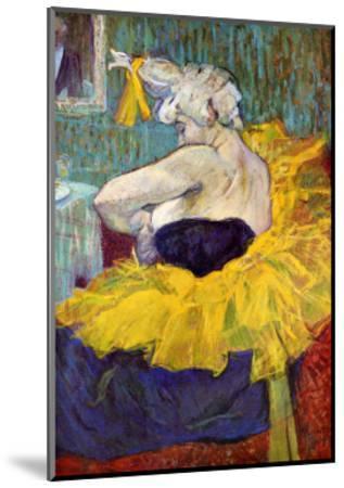 The Lady Clown Cha-U-Kao-Henri de Toulouse-Lautrec-Mounted Giclee Print