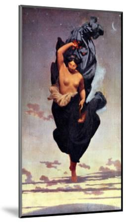 Night-Jean Leon Gerome-Mounted Giclee Print