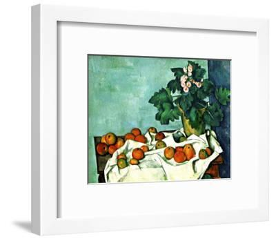 Still Life with Apples and Primroses--Framed Giclee Print