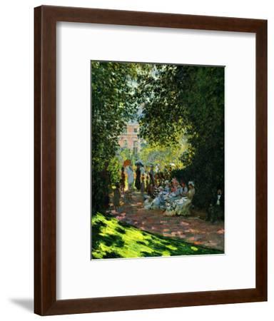 The Parc Monceau-Claude Monet-Framed Giclee Print