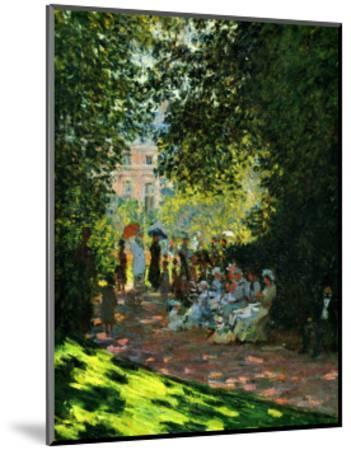 The Parc Monceau-Claude Monet-Mounted Giclee Print