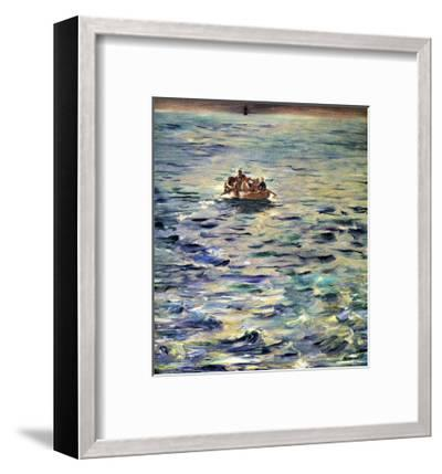 The Escape of Rochefort-Edouard Manet-Framed Giclee Print