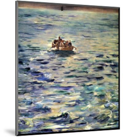 The Escape of Rochefort-Edouard Manet-Mounted Giclee Print