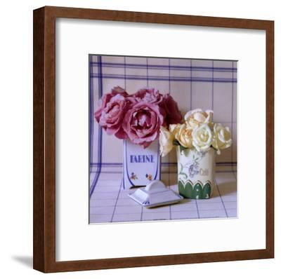 Pot's and Roses-Camille Soulayrol-Framed Art Print