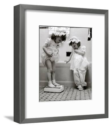 Weight Problems--Framed Art Print