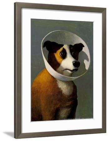 Filmhound-Michael Sowa-Framed Art Print