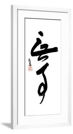 Without Incident-Sengai-Framed Art Print