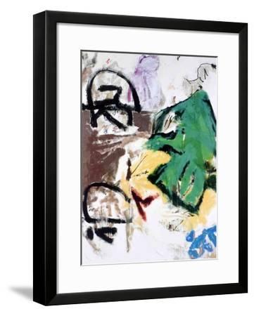 Parapliers, the Willow Dipped, 1987-Don Van Vliet-Framed Art Print