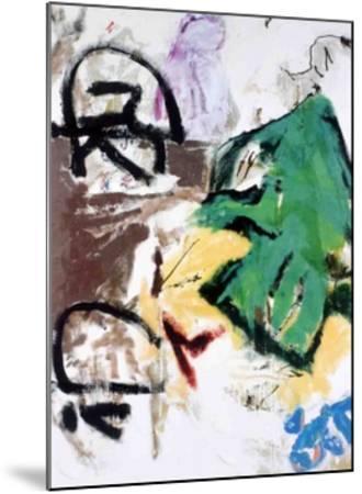 Parapliers, the Willow Dipped, 1987-Don Van Vliet-Mounted Art Print