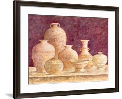 Decorative Vases II-G^p^ Mepas-Framed Art Print