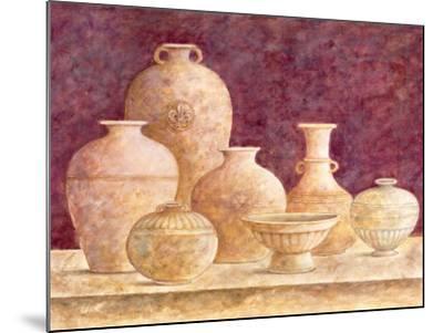 Decorative Vases II-G^p^ Mepas-Mounted Art Print
