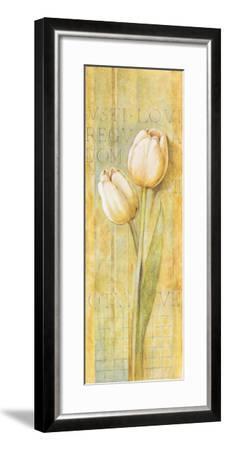 Quiet Flowers II-Herve Libaud-Framed Art Print
