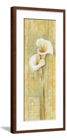 Quiet Flowers III-Herve Libaud-Framed Art Print