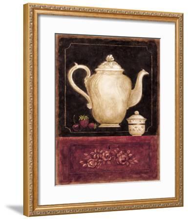 Time for Tea and Berries I-Herve Libaud-Framed Art Print