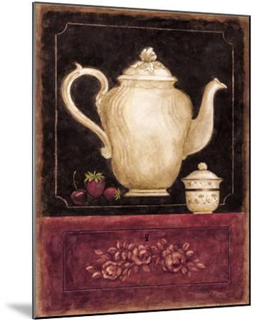 Time for Tea and Berries I-Herve Libaud-Mounted Art Print