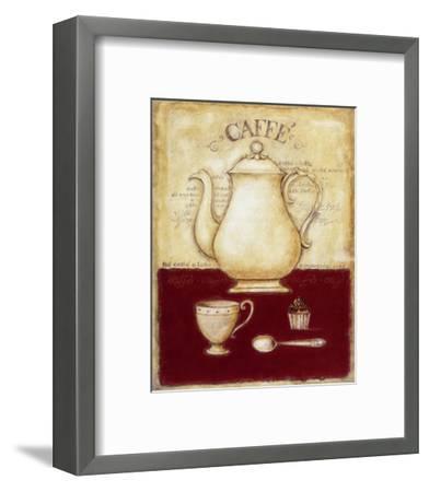 Coffee and Cupcake-G^p^ Mepas-Framed Art Print