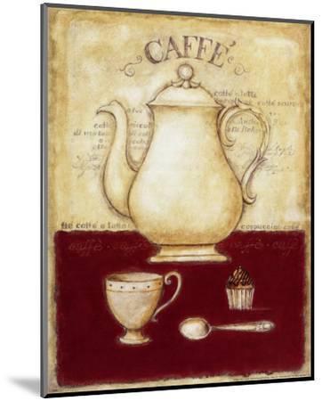 Coffee and Cupcake-G^p^ Mepas-Mounted Art Print