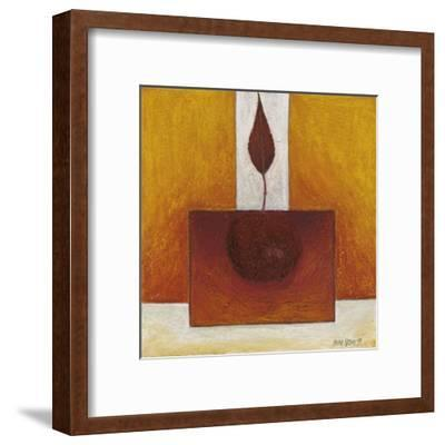 Feather on a Block-Pascale Nesson-Framed Art Print