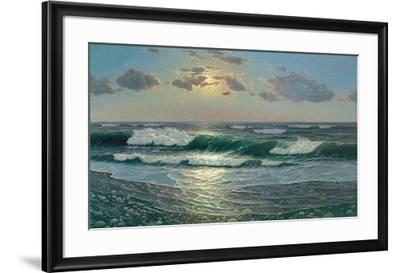 Peace and Serenity-Zelena-Framed Art Print