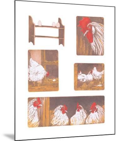 The Chicken Story-Van Der Sweep Ans-Mounted Art Print