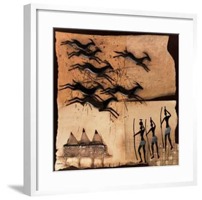 Gazelle II-Jan Eelse Noordhuis-Framed Art Print