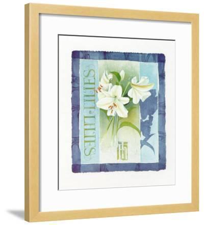 Lilies-Franz Heigl-Framed Art Print