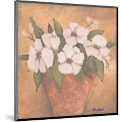Floral Fete I-Andre-Mounted Art Print