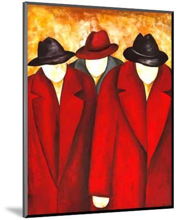 Three Wise Man I-Gisela Ueberall-Mounted Art Print