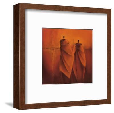 Mysterious II-Liesbet Optendrees-Framed Art Print