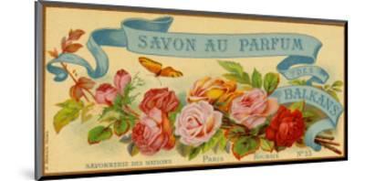 Savon au Parfum des Balkans--Mounted Art Print