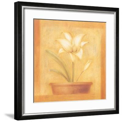 Refined Flower II-Lewman Zaid-Framed Art Print