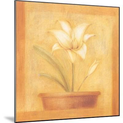 Refined Flower II-Lewman Zaid-Mounted Art Print