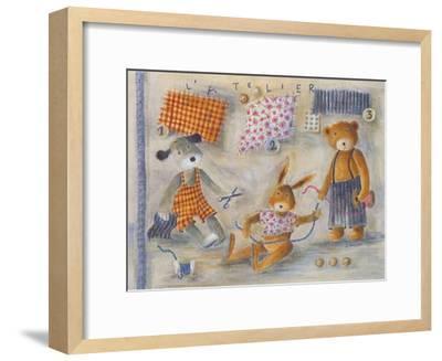 L'Atelier-Jo?lle Wolff-Framed Art Print