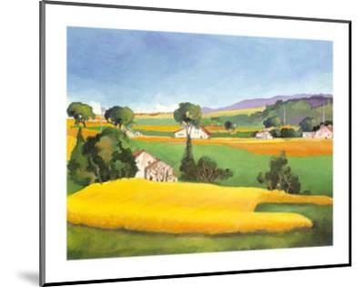 Summer in Provence IV-L. Vallet-Mounted Art Print