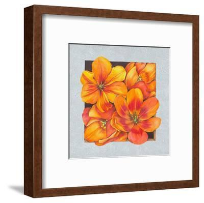 Flowers at the Window I-S^ Vollamt-Framed Art Print