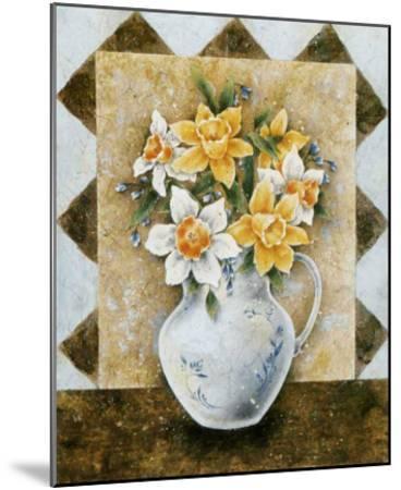 Vase of Narcissus-A^ Da Costa-Mounted Art Print