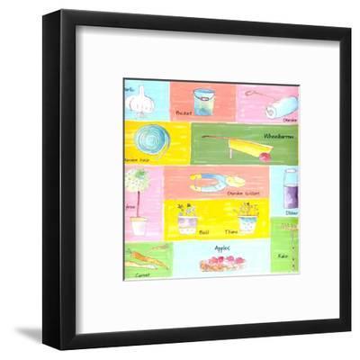 Outdoors and Indoors IV-C^ Gandini-Framed Art Print