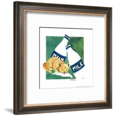 Naughty Cat V-Villalba-Framed Art Print