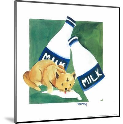 Naughty Cat V-Villalba-Mounted Art Print