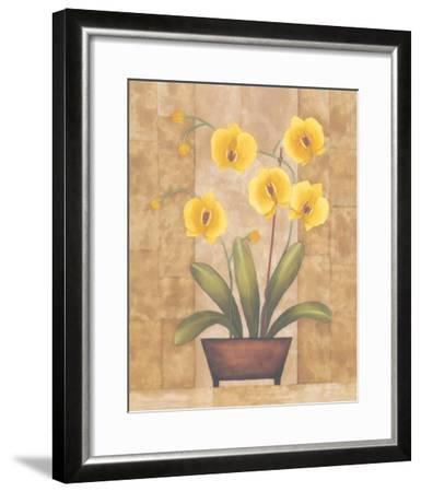 Melodic Orchid V-Urpina-Framed Art Print